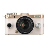 Pentax Q-S1 Systemkamera (12 Megapixel, 7,6 cm (3 Zoll) HD-LCD-Display, bildstabilisiert, DRII Dust Removal System, Full-HD-Video, HDMI) Double Zoom Kit inkl. 5-15mm und 15-45 mm Objektiv gold-22