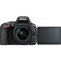 Nikon D5500 SLR-Digitalkamera Kit DX AF-P 18-55 VR schwarz-22