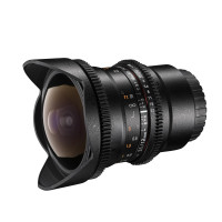 Walimex Pro 12mm f/3,1 Fish-Eye Objektiv DSLR für Sony Alpha Bajonett schwarz-22