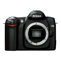 Nikon D50 SLR-Digitalkamera (6 Megapixel) Gehäuse schwarz-22