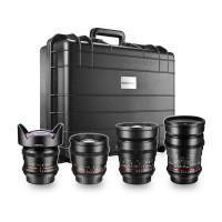 Walimex Pro VDSLR FF Video-Objektiv Set (inkl. 35mm Objektiv, 14mm Objektiv, 85mm Objektiv, 24mm Objektiv) für Nikon Vollformat-22
