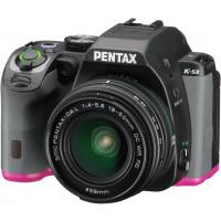 Pentax K-S2 Spiegelreflexkamera (20 Megapixel, 7,6 cm (3 Zoll) LCD-Display, Full-HD-Video, Wi-Fi, GPS, NFC, HDMI, USB 2.0) Kit inkl. 18-50mm WR-Objektiv schwarz/pink-21