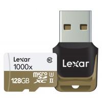Lexar Professional 128GB Class 10 High Performance 1000x Micro SDXC UHS-II U3 Speicherkarte mit USB-Kartenleser-22