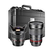 Walimex Pro Event-Set Nikon für Konzert und Eventfotografie (Fish-Eye Objektiv 8 mm f3,5, Objektiv 35 mm f1,4 mit AE Chip)-22