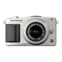 Olympus Pen E-PM2 Kit silber + 14-42 mm-22