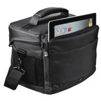 Hama Kameratasche für eine Spiegelreflexkamera mit bis zu zwei Objektiven und Tablet-Pc, Rexton 170, Schwarz-22