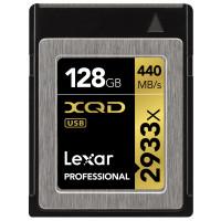 Lexar Professional 2933x 128GB XQD 2.0-Karte (Bis zu 440MB/s Lesen) w/USB 3.0 Reader LXQD128CRBEU2933BN-21