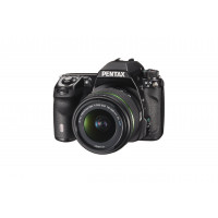 Pentax K-5 II Digital SLR-Kamera (16,3 Megapixel, 7,6 cm (3 Zoll) Display, LiveView, Safox X Autofokus, HDMI, USB 2.0) inkl. 18-55mm WR Kit-22