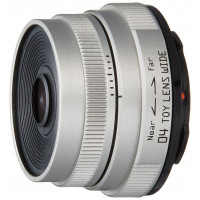 Pentax-04 TOY Lens Wide Silver for Pentax Q Mount (japan import)-22
