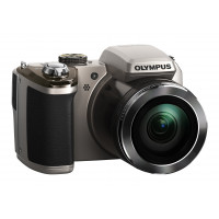 Olympus SP-820 Digitalkamera (14 Megapixel, 40-fach opt. Zoom, 7,6 cm (3 Zoll) LCD-Display) inkl. Batterien silber-22