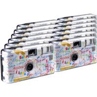 TopShot I mog di weiss Einwegkamera / Hochzeitskamera (27 Fotos, Blitz, 12-er Pack)-21