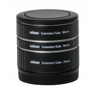 Dörr Zwischenringsatz (10/16/21 mm) für Canon EOS M schwarz-22