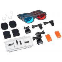 Premium Zubehör-Set für GoPro 3D Hero System AHD 3D-001-22