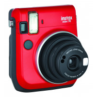 Fujifilm Instax Mini Sofortbildkamera rot rot-22