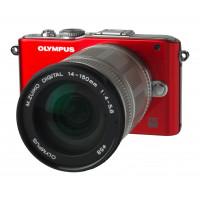 Olympus PEN E-PL3 Systemkamera (12 Megapixel) rot Kit mit M.Zuiko Digital ED 14-150mm Objektiv-22