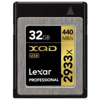 Lexar Professional 2933x 32GB XQD 2.0-Karte (Bis zu 440MB/s Lesen) w/USB 3.0 Reader LXQD32GCRBEU2933BN-21