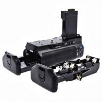 Meike Batteriegriff für Canon EOS 550D, 600D und 650D wie der BG-E8, als BG-E8 Ersatz in Originalqualität für 1-2 Stück LP-E8 oder 6 AA Akkus-22