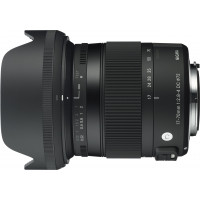 Sigma 17-70 mm f2,8-4,0 Objektiv (DC, Makro, OS, HSM, 72 mm Filtergewinde) für Sigma Objektivbajonett-22