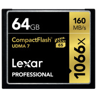 Lexar Professional 64GB 1066x Speed 160MB/s CompactFlash Speicherkarte-22