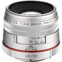 PENTAX DA35mm F2.8 Macro Limited SILVER K-mount APS-C 21460 HD DA35F2.8MACRO Limited SL-22