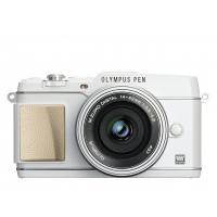 Olympus Pen E-P5 Kamera (16,1 Megapixel, Full HD, 7,6 cm (3 Zoll) Display, WiFi) inkl. 14-42mm Pancake Objektiv und Ledertrageriemen, weiß-22