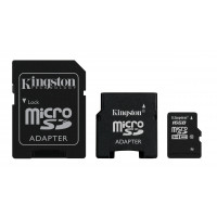 Kingston micro Secure Digital High Capacity (SDHC) Card 16GB Speicherkarte (Retailverpackung) mit Adapter-21