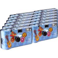 TopShot Flower Power Einwegkamera / Hochzeitskamera (27 Fotos, Blitz, 12-er Pack)-21