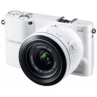 Samsung NX1000 Systemkamera (20 Megapixel, 7,6 cm (3 Zoll) Display) inkl. 20-50mm F3.5-5.6 ED II Objektiv weiß-22