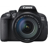 Canon EOS 700D SLR-Digitalkamera (18 Megapixel, 7,6 cm (3 Zoll) Touchscreen, Full HD, Live-View) Kit inkl. EF-S 18-135mm 1:3,5-5,6 IS STM-22
