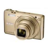 Nikon Coolpix S7000 Digitalkamera (16 Megapixel, 20-fach opt. Zoom, 7,6 cm (3 Zoll) LCD-Display, USB 2.0, bildstabilisiert) gold-22