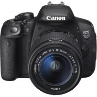 Canon EOS 700D SLR-Digitalkamera (18 Megapixel, 7,6 cm (3 Zoll) Touchscreen, Full HD, Live-View) Kit inkl. EF-S 18-55mm 1:3,5-5,6 IS STM-22