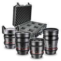 Walimex Pro FF Basisset Video und Foto Objektiv Set ( 35 mm 1:1,5 Objektiv, 85 mm 1:1,5 Objektiv, Weitwinkelobjektiv 14 mm 1:3, 1,24 mm 1:1,5 Objektiv, Objektivkoffer) für Micro Four Thirds Bajonett-22