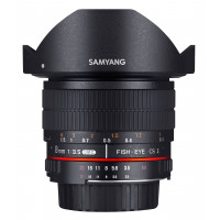 Samyang 8mm F3.5 CS II Objektiv für Anschluss Nikon AE-22