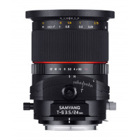 Samyang 24mm F3.5 T/S Objektiv für Anschluss Nikon AE-22