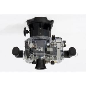 Unterwasser digitalkamera Nimar Unterwassergehäuse für Spiegelreflexkamera Canon 650D + kit EF-S 18/55 mm f/3.5-5.6 ISII-22