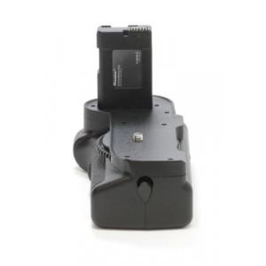 Minadax Profi Batteriegriff für Nikon D5200, D5100 hochwertiger Handgriff mit Hochformatauslöser + 4x EN-EL14 Nachbau-Akkus-22