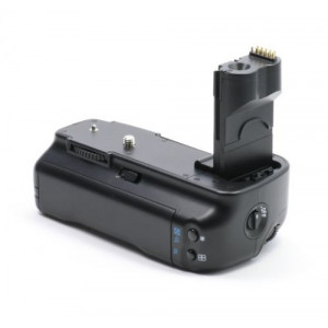 Minadax Profi Batteriegriff für Canon EOS 50D, 40D, 30D als BG-E2N, BG-E2 Ersatz + 4x BP-511A Nachbau-Akkus-22