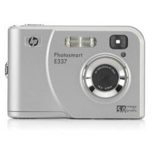 HP PhotoSmart E337 Digitalkamera 5.0 (2576 x 1920) 16 MB Silber silber-21