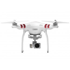 DJI Phantom 3 Standard Aerial UAV Quadrocopter Drohne mit Integrierter 2.7K Full-HD Videokamera, 3-Achsen-Gimbal, Digitaler Fernsteuerung Weiß/Rot-22