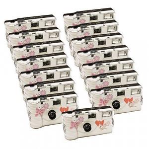 15x PHOTO PORST Hochzeitskamera mit Schmetterling / Einwegkamera / Partykamera (je 27 Fotos, mit Blitz, 15-er Pack)-22