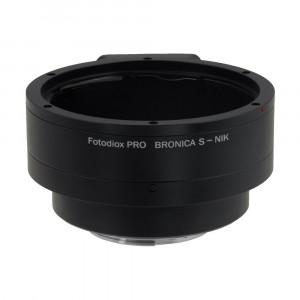 Fotodiox BronS-Nik-P Pro Lens Mount Adapter für Bronica S auf Nikon F Kamera System-22