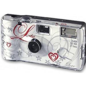 10x PHOTO PORST Hochzeitskamera / Einwegkamera / Partykamera (je 27 Fotos, mit Blitz, 10-er Pack)-22
