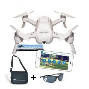YUNEEC Breeze Drohne + DS24 Tasche L + DS24 Fliegerbrille Quadrocopter Travel Set-22