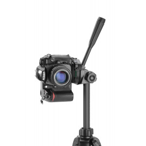 Cullmann ALPHA 3800 Dreibeinstativ mit Kurbelsäule, 3-Wege-Kopf und Kameraschnellkupplungs-System schwarz-22