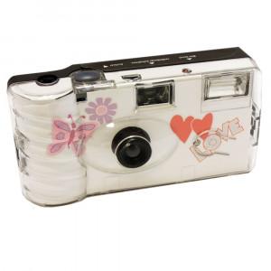 20x PHOTO PORST Hochzeitskamera mit Schmetterling / Einwegkamera / Partykamera (je 27 Fotos, mit Blitz, 20-er Pack)-22