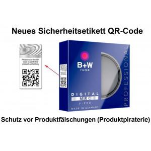 B+W F-Pro HTC Zirkularpolfilter Käsemann MRC 86 mm-22