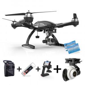 Yuneec Q500 Typhoon G für GoPro + CGO2+ HDKamera : ST10 Steuerung + Gimbal GB203 + Steadygrip G + Video Downlink-22