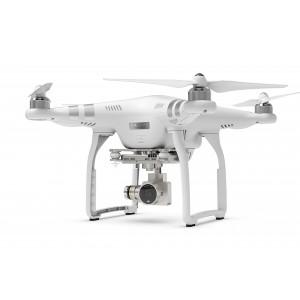 DJI Phantom 3 Advanced UAV Aerial Quadrocopter Drohne mit Integrierter 1080p Full HD Kamera und Gimbal zur Bildstabilisierung Weiß/Silber-22