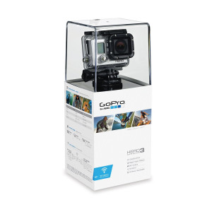 GoPro Kamera and Zubehör Hero3 White Edition, schwarz, 3660-015-22