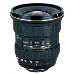 Tokina ATX 12-24mm/4 Pro DX II Objektiv inkl. Sonnenblende BH 777 für Nikon-22